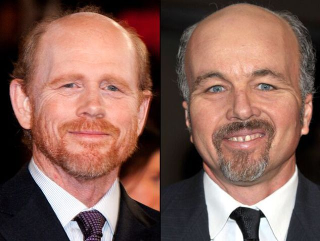 ron howard brother