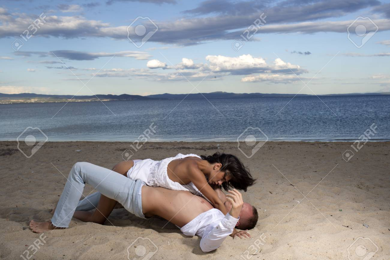 beach sex with naked women