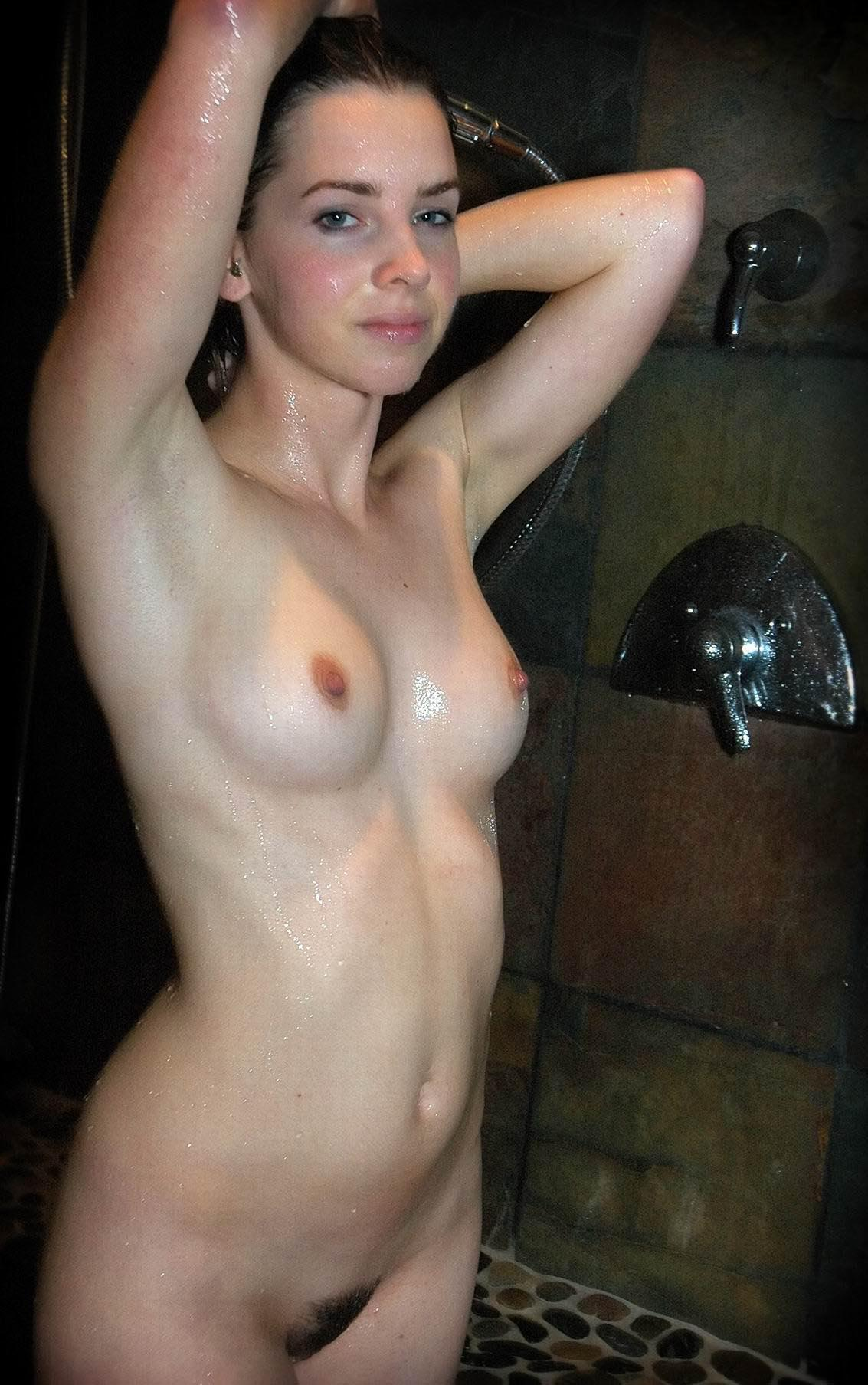 naked amateur women in the shower
