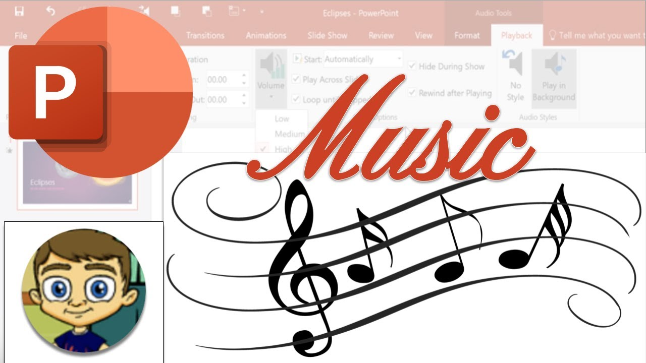 music for powerpoint presentation